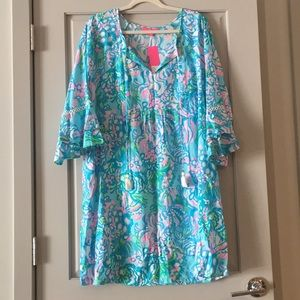 Lilly Pulitzer, NWT, Azita Tunic Dress, XL